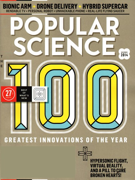 Popular Science Cover - 12/1/2014