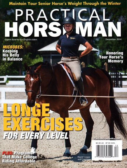 Practical Horseman Cover - 12/1/2014