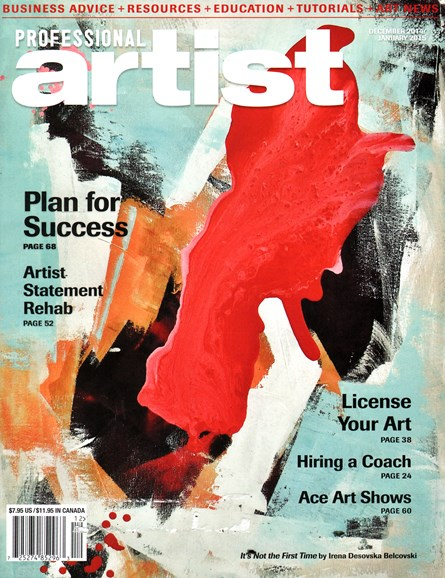 Professional Artist Cover - 12/1/2014