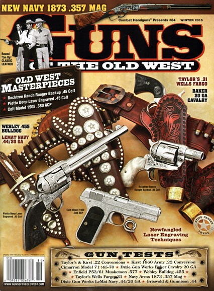 Guns Of The Old West Cover - 12/1/2014