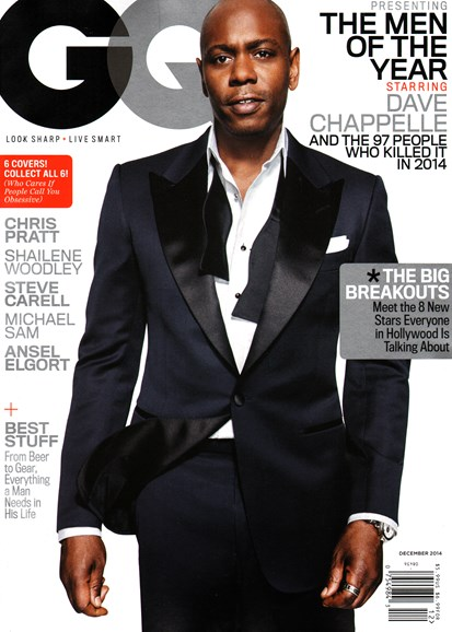 Gentlemen's Quarterly - GQ Cover - 12/1/2014