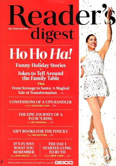 Reader's Digest Cover - 12/1/2014