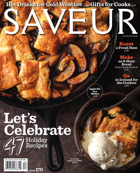 Saveur Cover - 12/1/2014