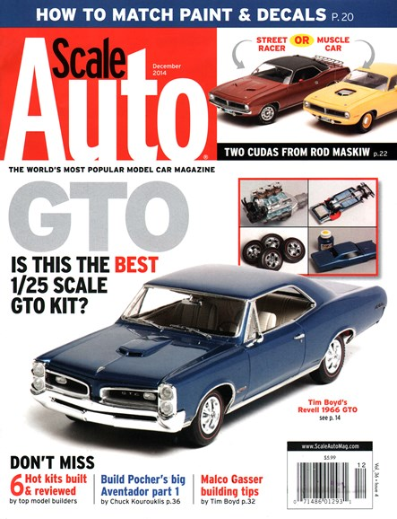 Scale Auto Magazine Cover - 12/1/2014