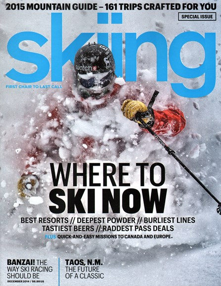 Skiing Cover - 12/1/2014