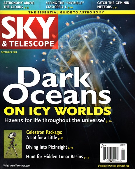Sky & Telescope Cover - 12/1/2014