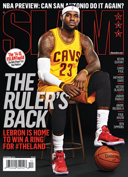 Slam Cover - 12/1/2014