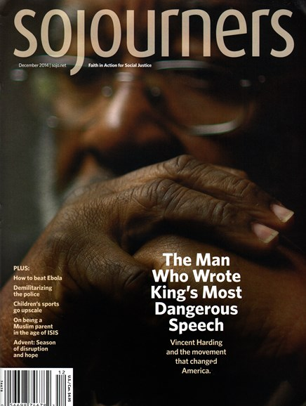 Sojourners Cover - 12/1/2014