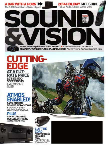 Sound & Vision Cover - 12/1/2014