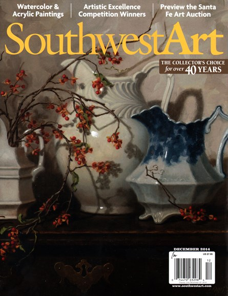 Southwest Art Cover - 12/1/2014