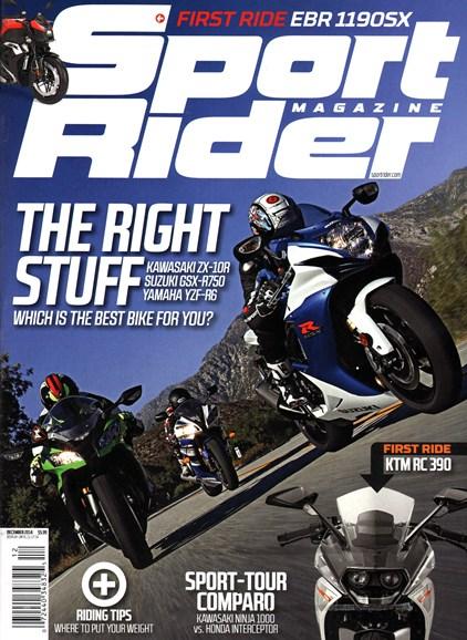 Sport Rider Cover - 12/1/2014
