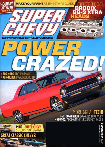 Super Chevy Cover - 12/1/2014