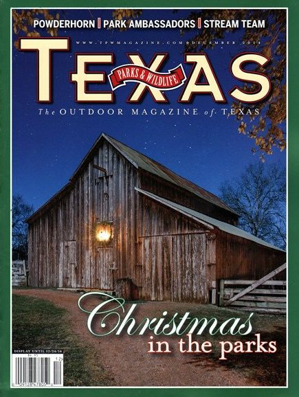 Texas Parks & Wildlife Cover - 12/1/2014