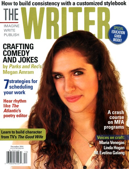 The Writer Cover - 12/1/2014