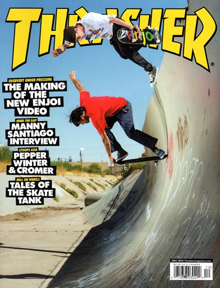 Thrasher Cover - 12/1/2014
