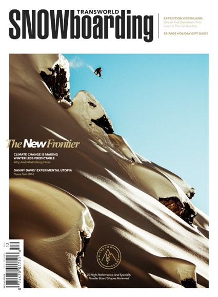 Transworld SNOWboarding Cover - 12/1/2014