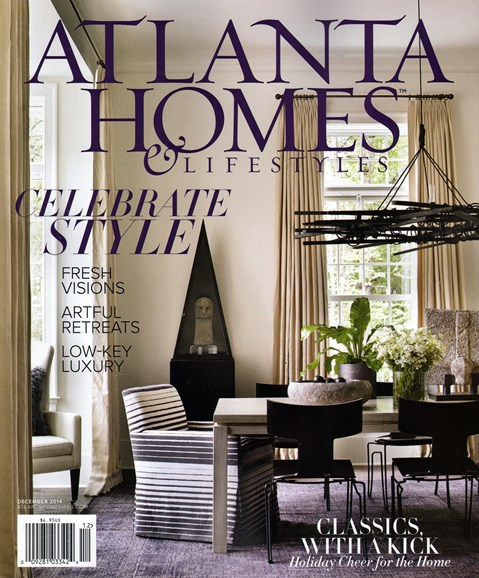 Atlanta Homes & Lifestyles Cover - 12/1/2014