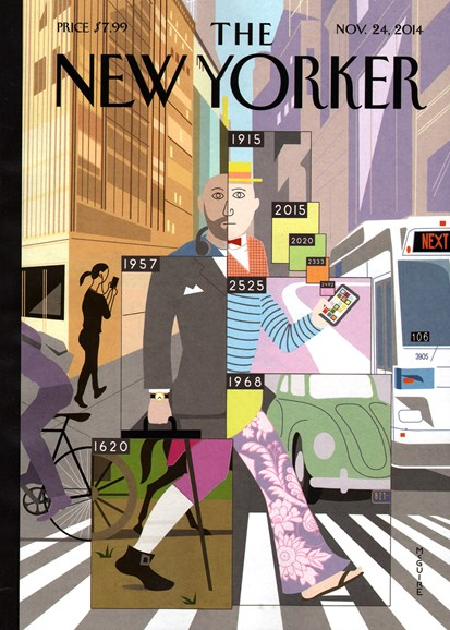 The New Yorker Cover - 11/24/2014