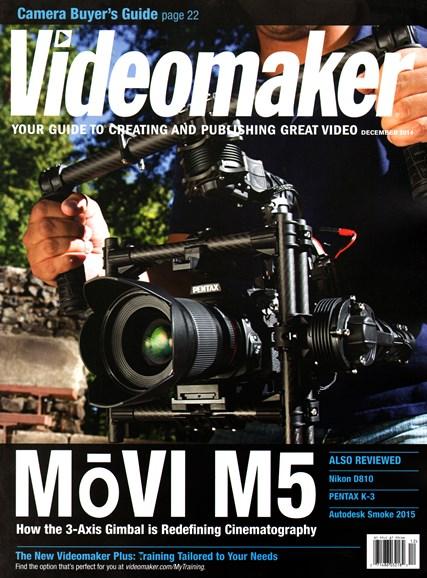 Videomaker Cover - 12/1/2014