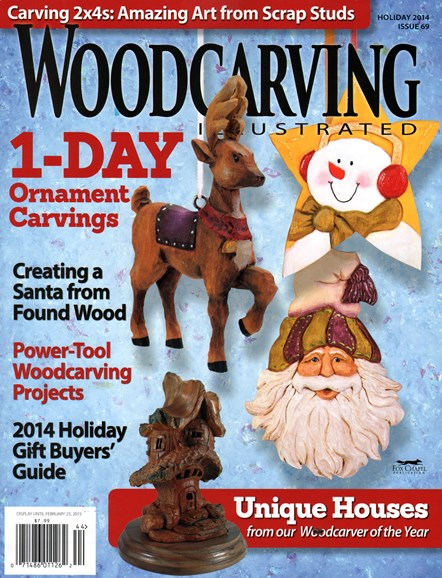 Wood Carving Illustrated Cover - 12/1/2014