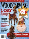 Wood Carving Illustrated Magazine | 12/1/2014 Cover