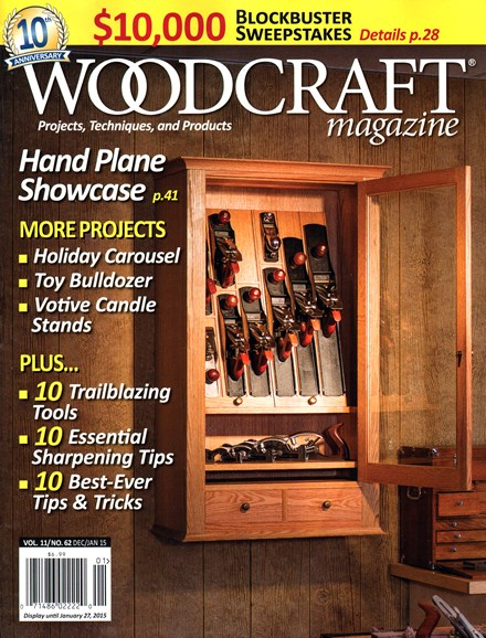 Woodcraft Cover - 12/1/2014