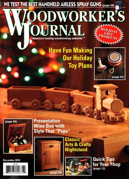 Woodworker's Journal Cover - 12/1/2014