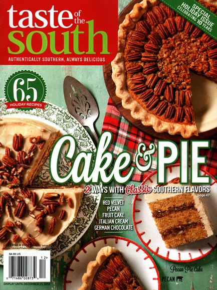 Taste of the South Cover - 12/1/2014