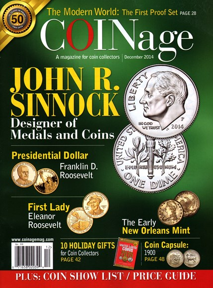 Coinage Cover - 12/1/2014