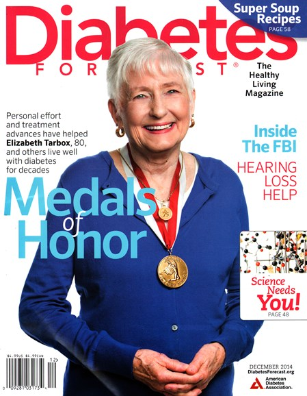 Diabetes Forecast Cover - 12/1/2014