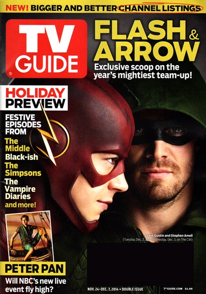 TV Guide Cover - 11/24/2014