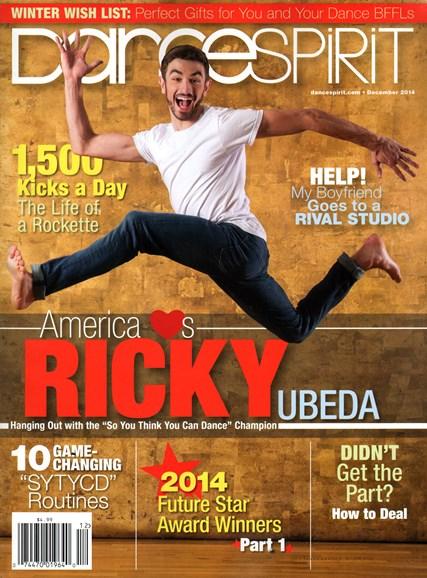 Dance Spirit Cover - 12/1/2014