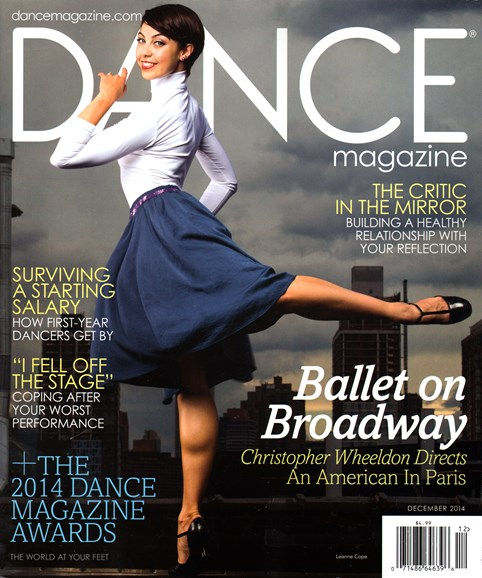 Dance Magazine Cover - 12/1/2014