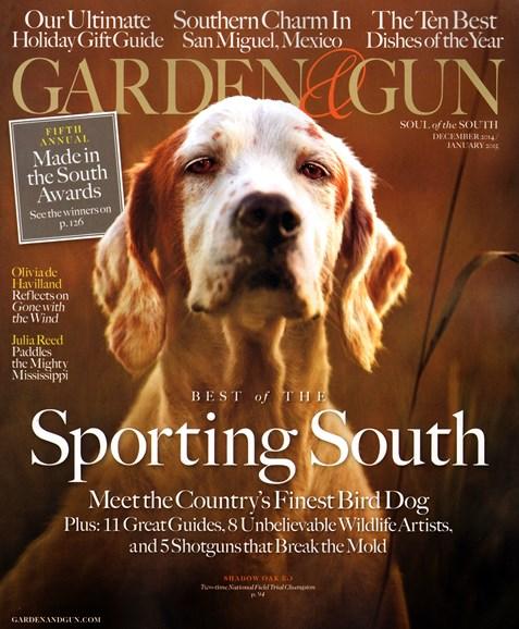 Garden & Gun Cover - 12/1/2014