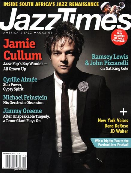 JazzTimes Cover - 12/1/2014