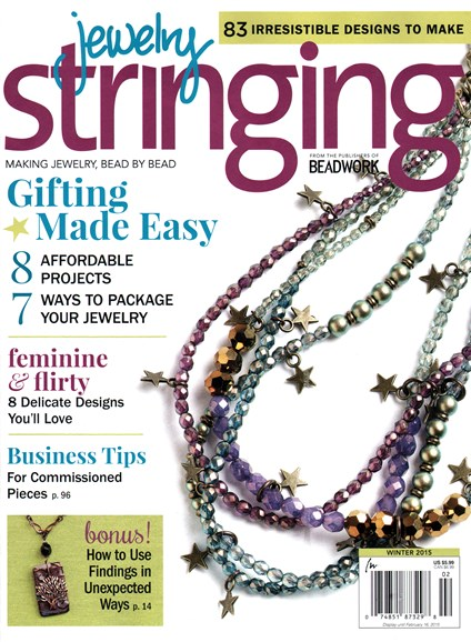 Jewelry Stringing Cover - 12/1/2014