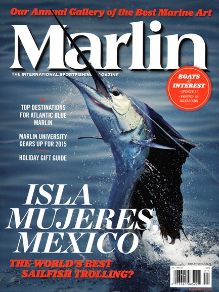 Marlin Cover - 12/1/2014