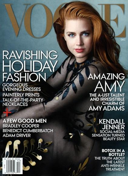 Vogue Cover - 12/1/2014
