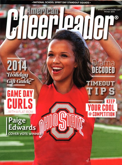 American Cheerleader Cover - 12/1/2014