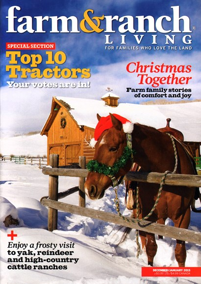 Farm & Ranch Living Cover - 12/1/2014