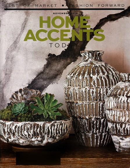 Home Accents Today Cover - 11/1/2014