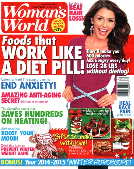Woman's World Cover - 12/8/2014