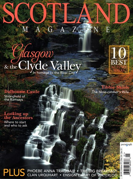 Scotland Magazine Cover - 12/1/2014