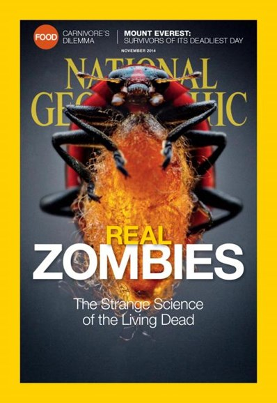 National Geographic Cover - 11/1/2014