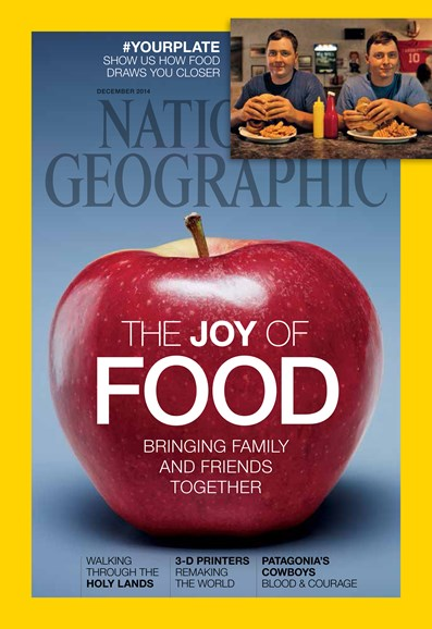 National Geographic Cover - 12/1/2014