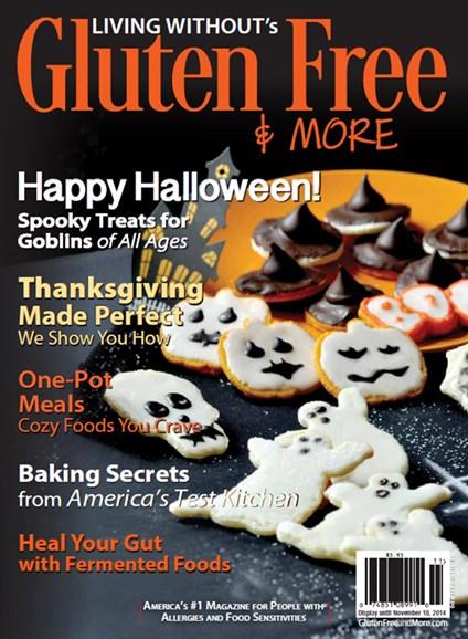 Gluten Free & More Cover - 10/1/2014