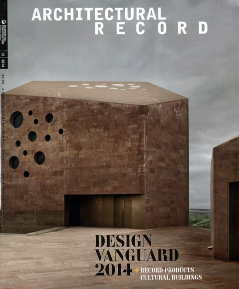 Architectural Record Cover - 12/1/2014