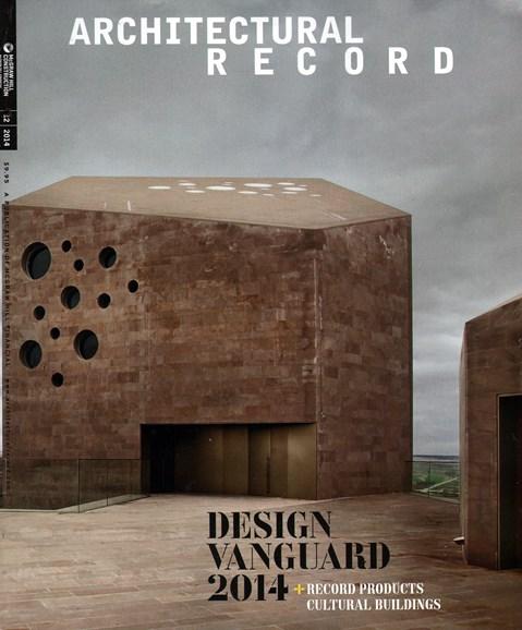 Architectural Record Cover - 12/1/2014