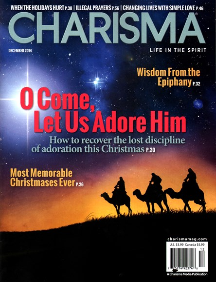 Charisma Cover - 12/1/2014