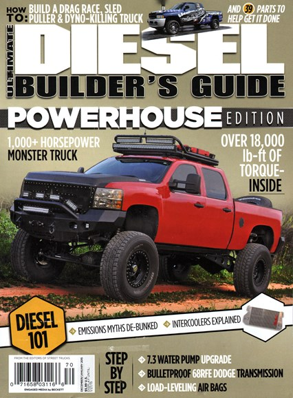 Ultimate Diesel Builder's Guide Cover - 12/1/2014